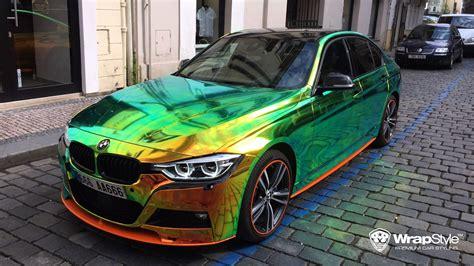 rainbow chrome ferrari gallerie wrapstyle autofolierung graz scheibent 246 nung