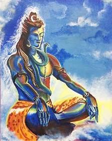 Lord Shiva Painting