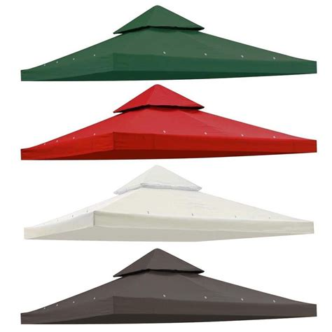 details   gazebo canopy top replacement  tier pavilion sunshade polyester cover