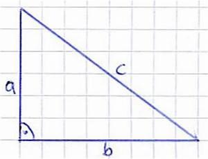 Winkel Berechnen Rechtwinkliges Dreieck : satz des pythagoras ~ Themetempest.com Abrechnung