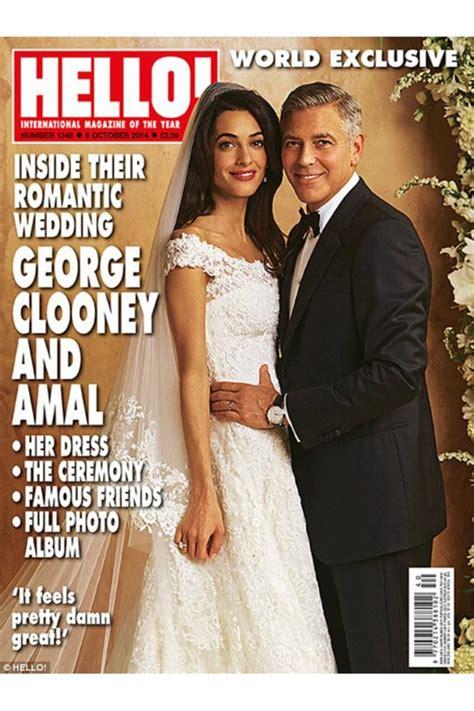 amal alamuddins wedding dress revealed