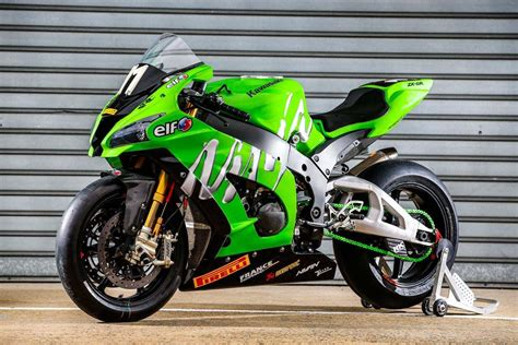 Team Kawasaki Src Ninja Zx-10r World Race Bike