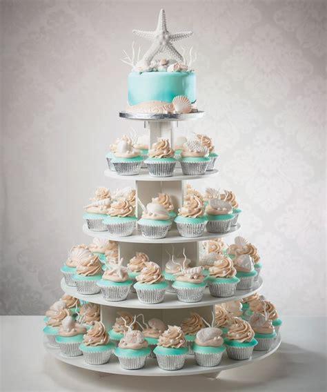 wedding cakes  beach weddings