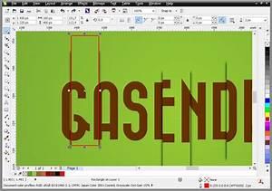 CorelDRAW Tutorial - Vertical Stretch Zoom Text Effects ...