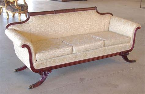 duncan phyfe couches duncan phyfe style mahogany sofa