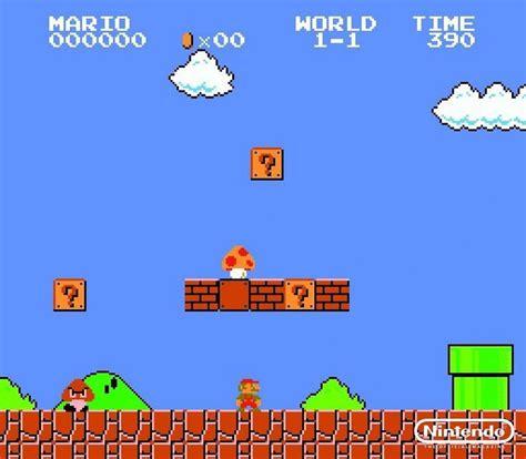 Super Mario Bros 8 Bit 90s Nintendo World Games