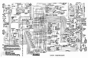 General Wiring Diagram For 1959 Chevrolet Passenger Car  60000