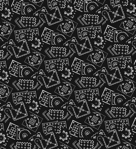 Bandana Background Black Bandana Wallpaper Wallpapersafari