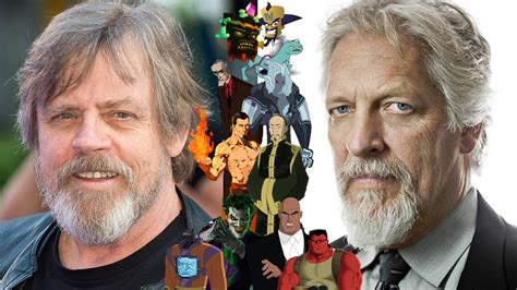 mark hamill voices voice connections mark hamill clancy brown youtube