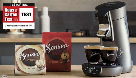 haus und garten test im test 3 kaffeepadmaschinen im vergleichstest haus garten test