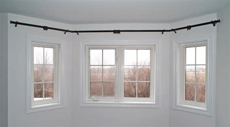 bay window curtain rods beautiful curtain rods for bay