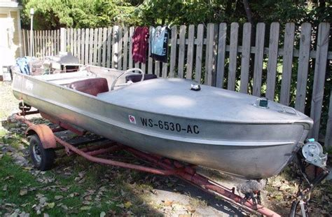 Aluminum Boats Poland by Polished Aluminum Boat Search Vintage Boats