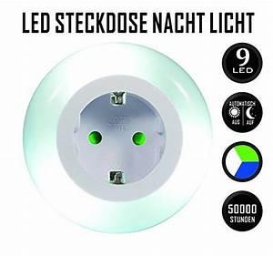 Nachtlicht Led Steckdose : emotionlite led steckdose nachtlicht mit d mmerungssensor ~ A.2002-acura-tl-radio.info Haus und Dekorationen