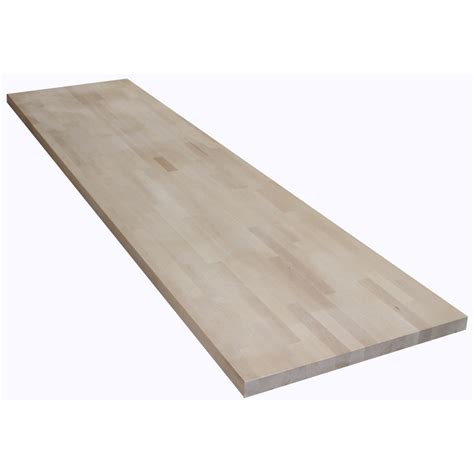 Shop The Baltic Butcher Block 8ft Natural Straight