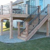 lovely patio stair design ideas Porch Deck Design Ideas, Pictures, Remodel, and Decor ...
