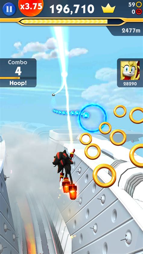 sonic dash  sonic boom mod android offline mods