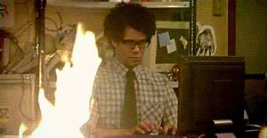 Burning The It Crowd GIF - Find & Share on GIPHY