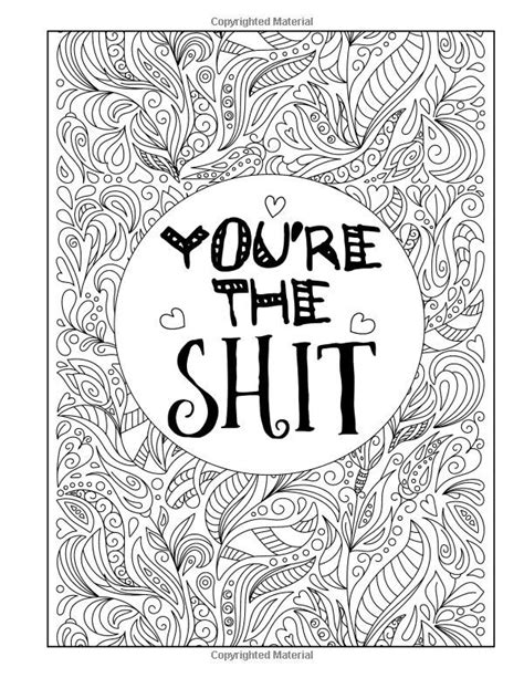 You're The S*it: A Totally Inappropriate Adult Coloring
