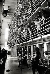 Metallica preforming at San Quentin State Prison, 2003 ...