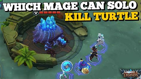 Which Mages Can Solo Kill Turtle At Lvl 4 With Only One