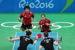 Olympics Table Tennis 2016 Results August 12