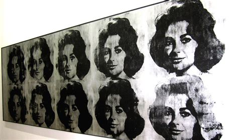 ten lizes  andy warhol  pompidou centre located