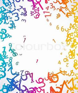 Background, cartoon, algebra Stock Vector Colourbox