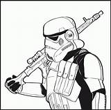 Stormtrooper Coloring Wars Drawing Stencil Trooper Clone Deviantart Printable Adult Lego Mask Zombie Battlefront Drawings Stencils Sheets Tattoo Bloody Colorear sketch template