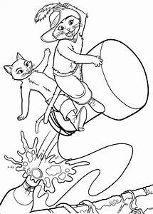 Kids N Funcom 23 Coloring Pages Of Puss In Boots