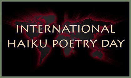 Image result for international haiku day images