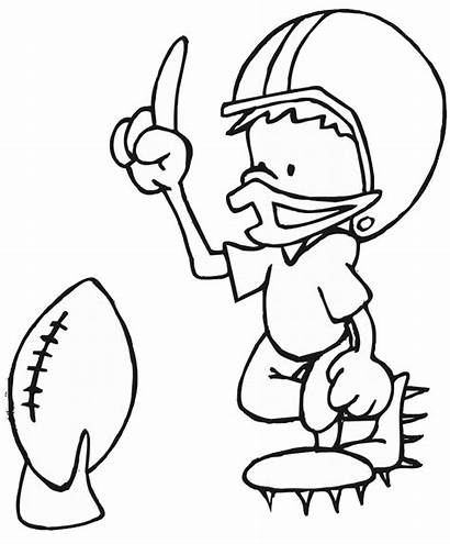 Football Coloring Printable Pages