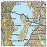 Aerial Photography Map of Mercer Island, WA Washington