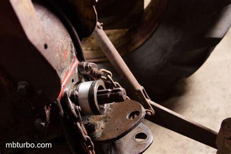 removing hydraulic pump mf sticking implement controlvalve problem mercedes benz turbo
