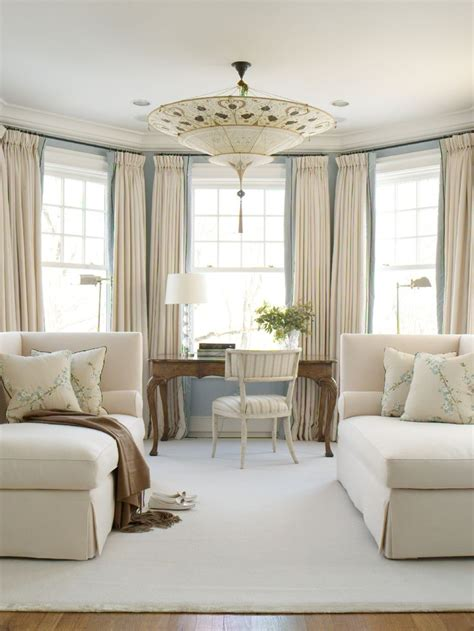 Connecticut Home Clean Crisp Palette by What S Not To Drapery Fortuny Light Fixture