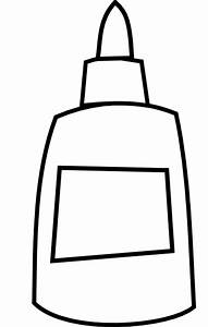 White Glue Bottle Clip Art at Clker.com - vector clip art ...