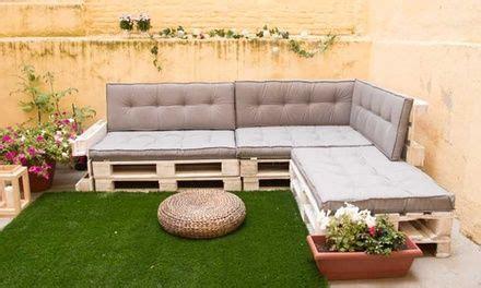 Estos cojines fabricados especialmente para sofás de palet