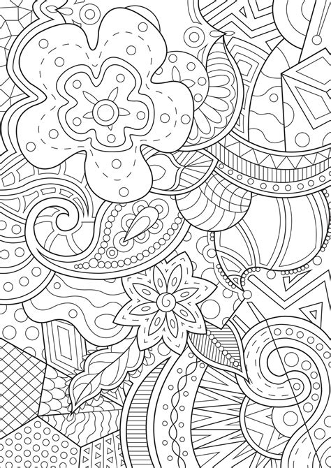 Coloring Background by Whimsical Background Anti Stress Coloring Pages