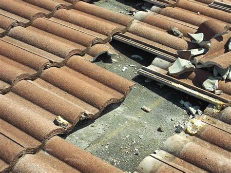 leaking roof broken roof tiles roof leak repair roof
