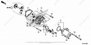 Honda Side By Side 2017 Oem Parts Diagram For Control