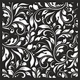 Damask Floral Vector Seamless Pattern Free Vector cdr ...
