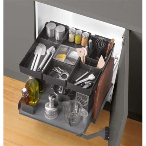 Ebco Kitchen Tower 450 Anthracite Pkt45 At