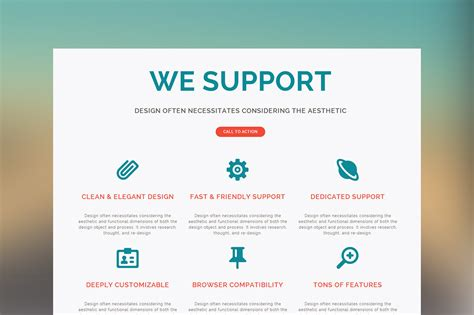 One Adobe Muse Theme Website Templates Creative Market Web One Page Muse Template Website Templates On