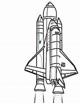 Rocket Coloring Pages Ship Space Spaceship Wars Star Printable Drawing Alien Outer Getdrawings Clipartmag Getcolorings Colorings sketch template