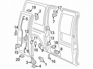 Chevrolet Express 2500 Door Latch Assembly