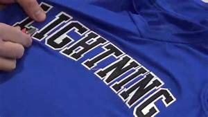 Softball jerseys with embroidered tackle twill letters for Tackle twill letters for sale