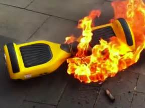 Hoverboards That Catch On Fire