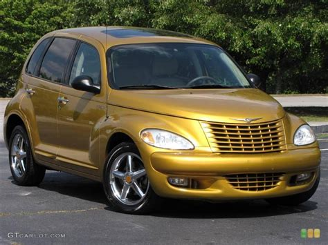 Are Chrysler Pt Cruisers Cars by Cruiser Series 1 Inca Gold Pearlcoat Color