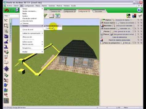 diseno de jardines   tutorial video  modelado de