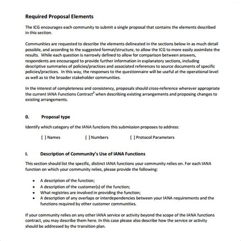 sample rfp response template   documents