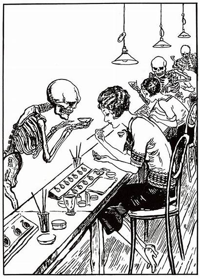 Radium Clock Workers Cartoon Dials History Painters